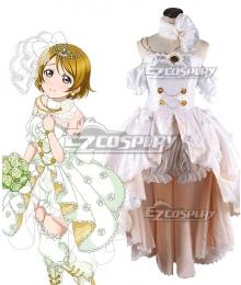 Love Live! Lovelive! Wedding Bride Dress Party Dress Hanayo Koizumi Cosplay Costume