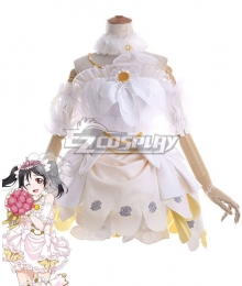 Love Live! Lovelive! Wedding Bride Dress Party Dress Nico Yazawa Cosplay Costume