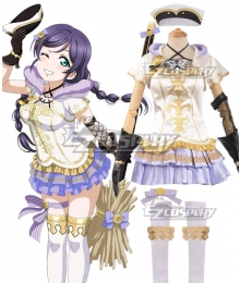 Love Live! Lovelive! Wizard Ver. Nozomi Tojo Cosplay Costume