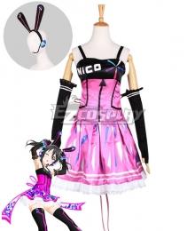 Love Live! Lovelive! Nico Yazawa Cyber Idolized Gaming Game Awaken Cosplay Costume