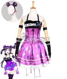 Love Live! Lovelive! Nozomi Tojo Cyber Idolized Gaming Game Awaken Cosplay Costume