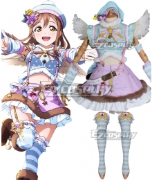 Love Live Sunshine 2018 Anime Aqours Hanamaru Kunikida Christmas Choir Uniform Cosplay Costume