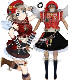 Love Live Sunshine 2018 Anime Aqours You Watanabe Christmas Choir Uniform Cosplay Costume