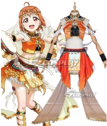 LoveLive! Sunshine!! Aqours Chika Takami Dancer Awaken Cosplay Costume