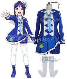 Love Live! Sunshine!! Aqours Second Season OP Mirai No Bokura Wa Shitteru Yo Kanan Matsuura Cosplay Costume