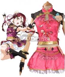 Love Live! Sunshine!! China Dress Ver Riko Sakurauchi Cosplay Costume