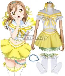 Love Live! Sunshine!! Koi Ni Naritai AQUARIUM Hanamaru Kunikida Cosplay Costume