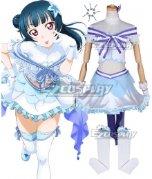Love Live! Sunshine!! Koi Ni Naritai AQUARIUM Yoshiko Tsushima Cosplay Costume