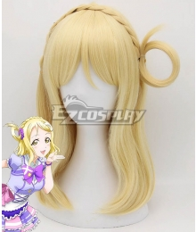 Love Live! Sunshine!! Mari Ohara Golden Cosplay Wig