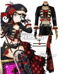 Love Live! Sunshine!! Transformed Punk Rock Dia Kurosawa Cosplay Costume