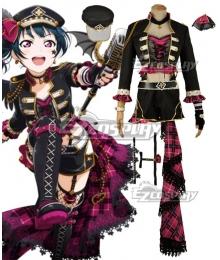 Love Live! Sunshine!! Transformed Punk Rock Yoshiko Tsushima Cosplay Costume
