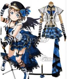 Love Live! Sunshine!! Transformed Punk Rock You Watanabe Cosplay Costume