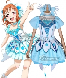 Love Live! Sunshine!! WATER BLUE NEW WORLD Chika Takami Cosplay Costume