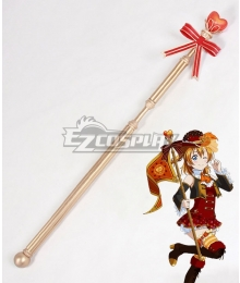 Love Live! Valentine's Day Kosaka Honoka Staves Cosplay Weapon Prop