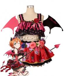 Love Live! Lovelive! Halloween Rin Hoshizora Little Devil Ver. Cosplay Costume