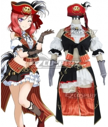 LoveLive! Pirate Maki Nishikino Cosplay Costume