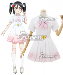 Lovelive μ's 8th A Song for You Nico Yazawa Cosplay Costume