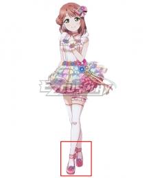 LoveLive! School Idol Festival PERFECT Dream Project Love U My Friends Ayumu Uehara Pink Cosplay Shoes