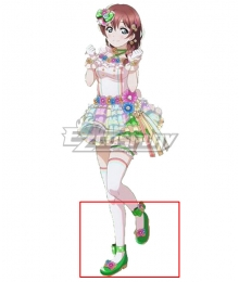 LoveLive! School Idol Festival PERFECT Dream Project Love U My Friends Emma Verde Green Cosplay Shoes