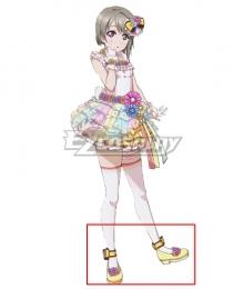 LoveLive! School Idol Festival PERFECT Dream Project Love U My Friends Kasumi Nakasu Yellow Cosplay Shoes