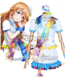 LoveLive! School Idol Festival PERFECT Dream Project Rainbow Rose Kanata Konoe Cosplay Costume