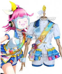 LoveLive! School Idol Festival PERFECT Dream Project Rainbow Rose Rina Tennoji Cosplay Costume
