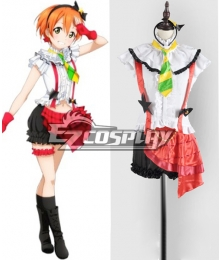 LoveLive! School Idol Project Hoshizora Rin Performance Cosplay Costume
