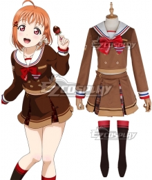 LoveLive! Sunshine!! 2018 Chocolate Valentine's Day Chika Takami Cosplay Costume