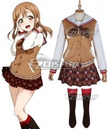 LoveLive! Sunshine!! 2018 Chocolate Valentine's Day Hanamaru Kunikida Cosplay Costume