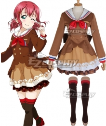 LoveLive! Sunshine!! 2018 Chocolate Valentine's Day Ruby Kurosawa Cosplay Costume