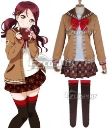 LoveLive! Sunshine!! 2018 Chocolate Valentine's Day Sakurauchi Riko Cosplay Costume