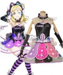 Love Live! lovelive! sunshine!! Cyber Idolized Gaming Game Awaken Mari Ohara Cosplay Costume