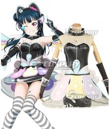 Love Live! lovelive! sunshine!! Cyber Idolized Gaming Game Awaken Yoshiko Tsushima Cosplay Costume