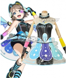 Love Live! lovelive! sunshine!! Cyber Idolized Gaming Game Awaken You Watanabe Cosplay Costume