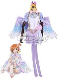Lovelive! Love Live! White Day Rin Hoshizora Cosplay Costume