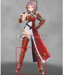 Sword Art Online Alicization Lycori Rika Shinozak Prize Red Shoes Cosplay Boots