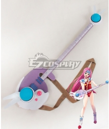 Macross 7 Mylene Flare Jenius Bass Cosplay Weapon Prop