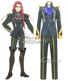 Macross Delta Macross Δ Bogue Con-Vaart Cosplay Costume
