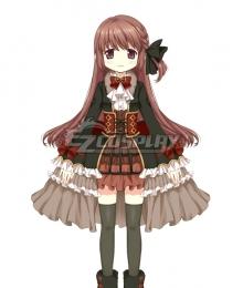 Magia Record: Puella Magi Madoka Magica Side Story Magireco  Touka Satomi Cosplay Costume