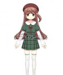 Magia Record: Puella Magi Madoka Magica Side Story Magireco  Touka Satomi Uniform Cosplay Costume