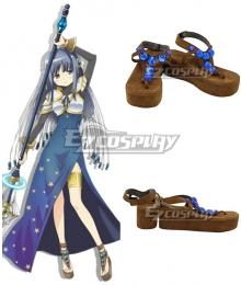 Magia Record: Puella Magi Madoka Magica Side Story Magireco Yachiyo Nanami Golden Cosplay Shoes