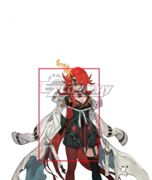Maglam Lord Protagonist Kilrizark Male Red Cosplay Wig