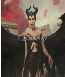 Maleficent Mistress of Evil Maleficent One Piece Cosplay Costume