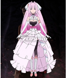 Mao sama Retry! Angel White Cosplay Costume