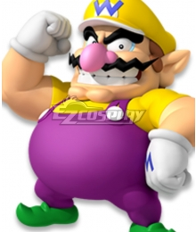 Mario party  Wario Cosplay Costume