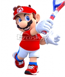 Mario Tennis Aces Mario Cosplay Costume