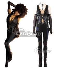 Marvel 2018 Deadpool 2 Domino Neena Thurman Cosplay Costume