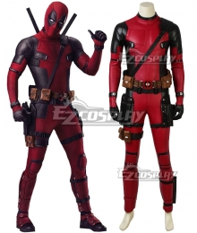 Marvel 2018 Deadpool 2 Wade Wilson Cosplay Costume