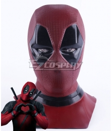 Marvel 2018 Deadpool 2 Wade Winston Wilson Mask Cosplay Accessory Prop