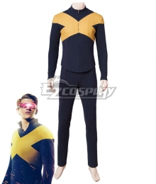Marvel 2019 X-Men: Dark Phoenix Male Cyclops Cosplay Costume